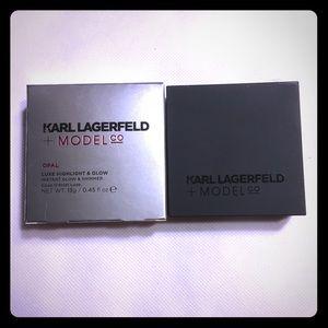 NIB Karl Lagerfeld + Model luxe highlight & glow